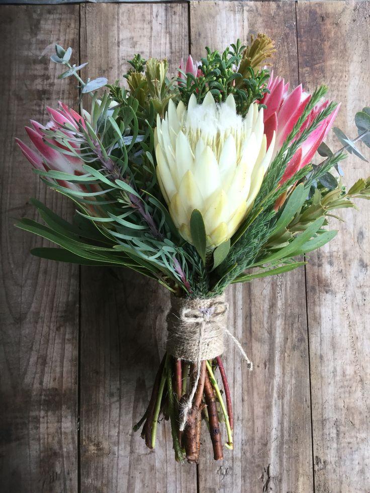 Repens Wedding Bouquet Protea Weddings at Peninsula Wild Flower