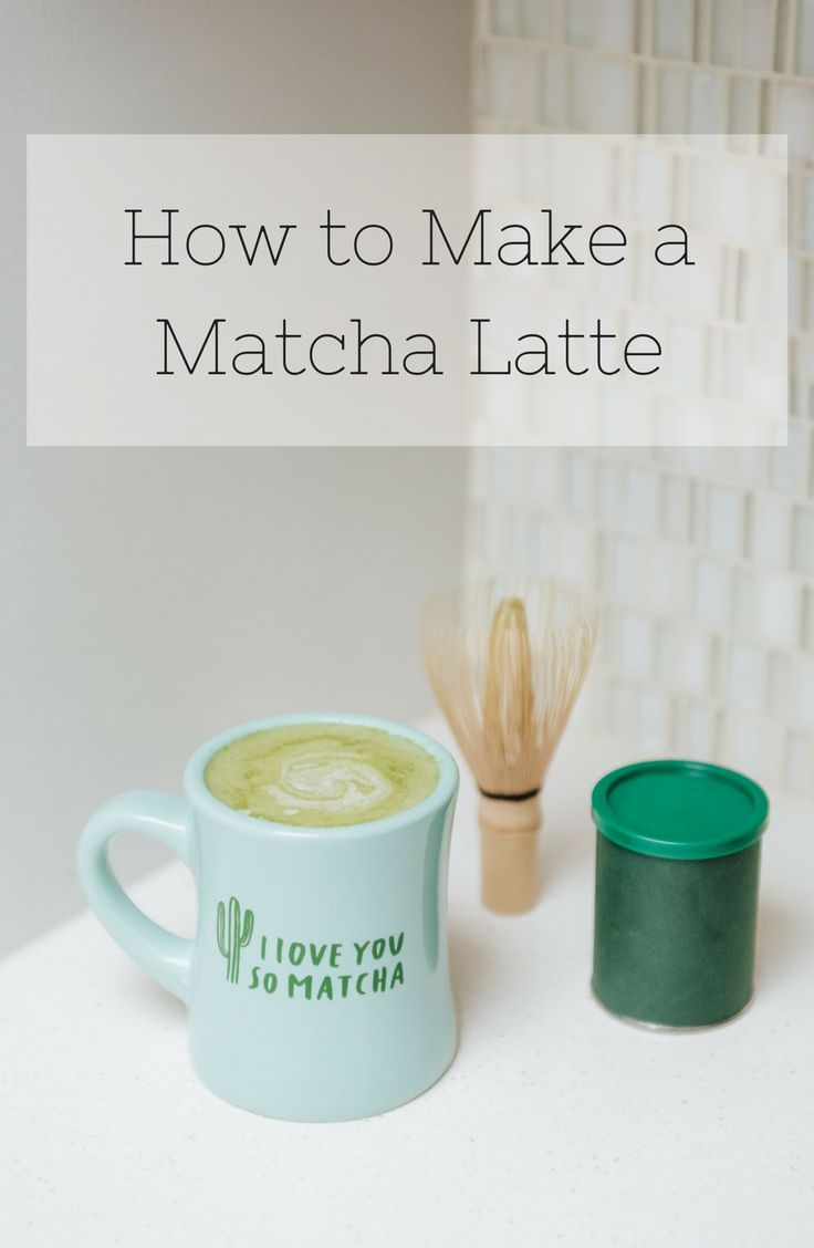 How to Make a Matcha Latte || Bows & Sequins