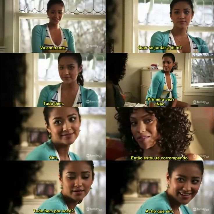 Emily e Maya, Pll frases