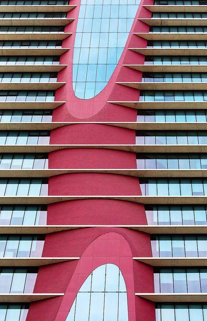 Torres Fira - Barcelona, España / 2010 / Toyo Ito