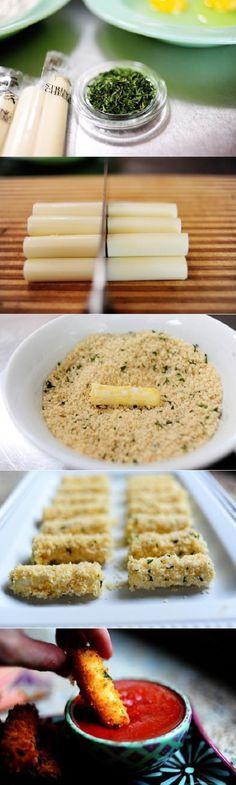 Panko Mozzarella Sticks (fried)