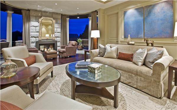 Contemporary (Modern, Retro) Living Room by Garret Werner