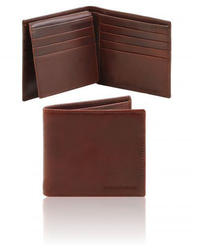 TL141472  Exclusive 3 fold leather wallet for men