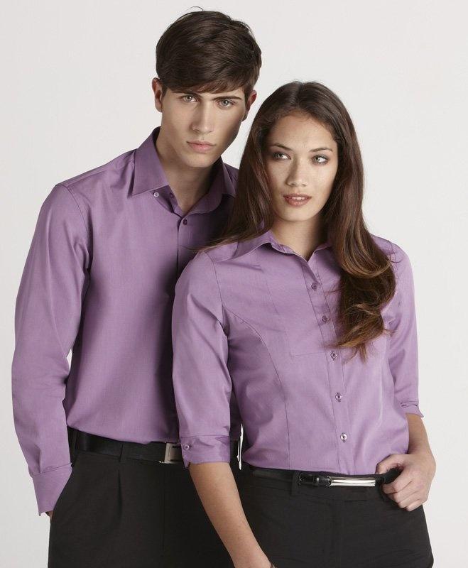 Chevron Ladies 3/4 Sleeve Shirt - S122LT