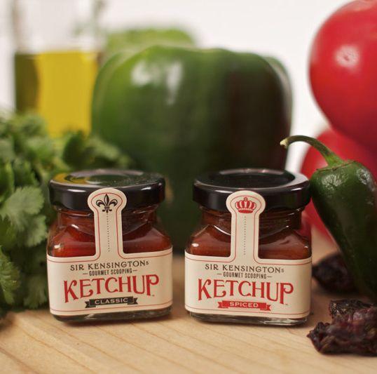 Design: Bottle Labels, Creative Packaging Design, Sir Kensington, Vintage Packaging, Jars Labels, Scoop Ketchup, Food Labels, Bottle Design, Labels Design