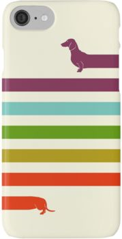 (Very) Long Dachshund iPhone 7 Cases