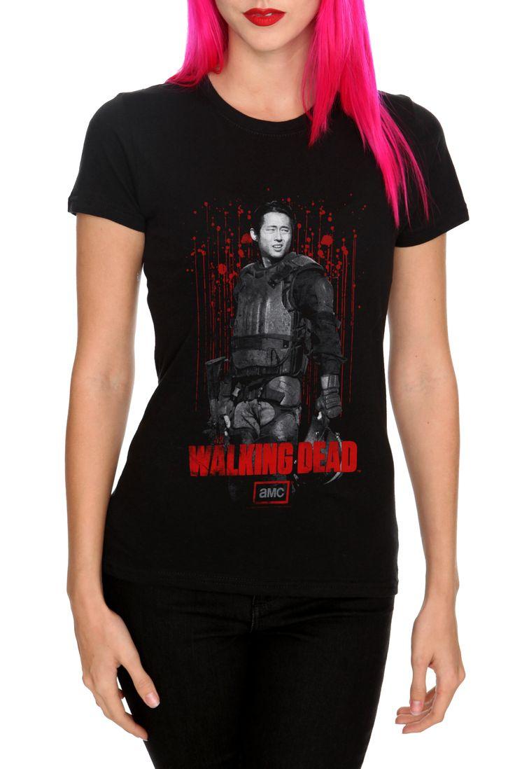 Bring Me The Horizon Shirt Hot Topic The Walking Dead Glenn...