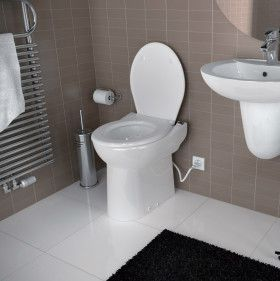Upflush Toilet Home Depot Basement Ideas Bathroom Wall