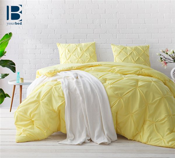 Spring is here! Our Limelight #Yellow_Comforter in a stylish, yet not over done #Pintuck design that will add happiness to your #Bedroom_Bedding by lifting your spirits with the warm glow of #yellow bedding.    #Beautiful_Bedding #Pretty_Comforters #Best_Comforter #New_Bedding #New_Comforter #Yellow_Bedding #Queen_Comforters #Byourbed #BYB #Bedding_ideas #Comforter_Ideas #Bright_Comforters #Pin_Tuck_Comforters