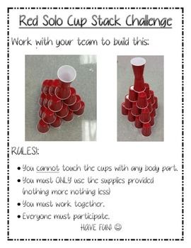 FREE printable Team-Building Activity for employees, staff members, teachers, students, any grade! Fun Easy, promotes teamwork. So cute!