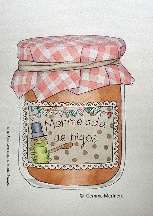 Bote de mermelada. (Gemma Merinero)