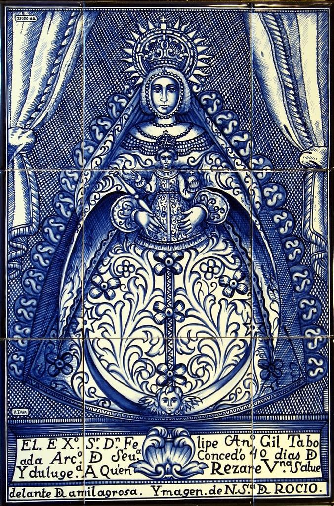 La Virgen del Rocio (Huelva, España)