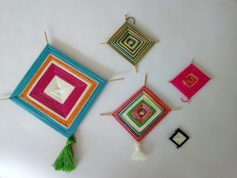 Cómo hacer un mandala tejido