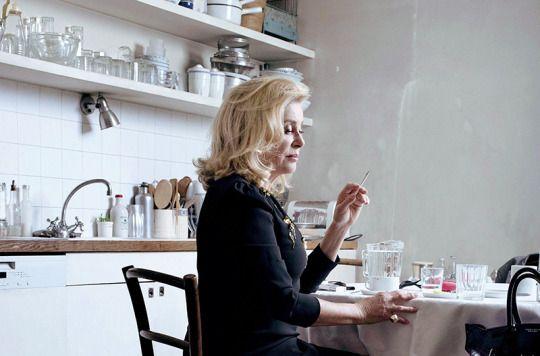 Catherine Deneuve photographed by Hidiro for Madame Figaro, 2016.