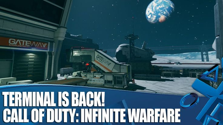 Call Of Duty: Infinite Warfare on PS4 - Check Out The New Terminal