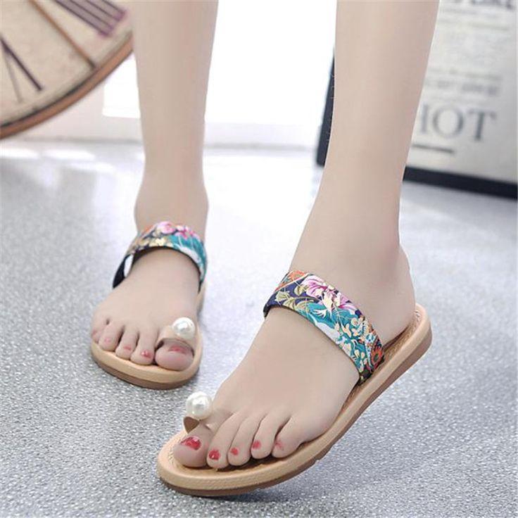 $7.58 (Buy here: https://alitems.com/g/1e8d114494ebda23ff8b16525dc3e8/?i=5&ulp=https%3A%2F%2Fwww.aliexpress.com%2Fitem%2FWomen-s-Sandals-Comfort-female-Slingbacks-Floral-Beach-Shoes-Womens-Summer-Flat-Flip-Flops-Sandals-Loafers%2F32746329507.html ) Women's Sandals Comfort female Slingbacks Floral Beach Shoes Womens Summer Flat Flip Flops Sandals Loafers Bohemia Shoes for just $7.58
