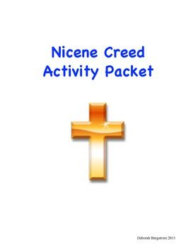 Nicene Creed Activity Packet