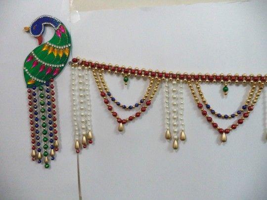 Peacock design Pearl Bandhanwar