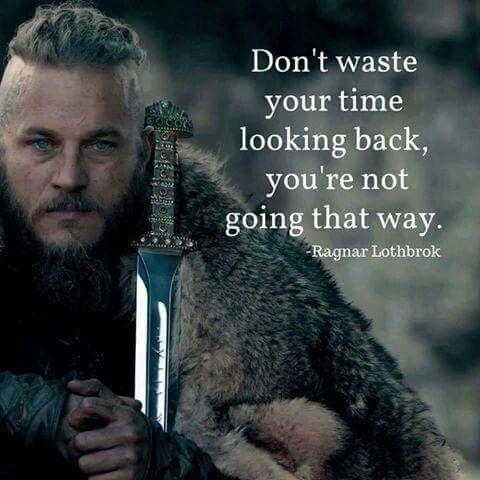 Travis Fimmel as Ragnar Lothbrok in Vikings.