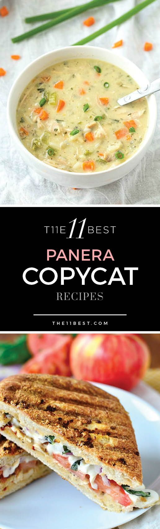 Panera Copycat Recipes. Panera soup recipes. Panera cookie recipe. Panera sandwich recipe.