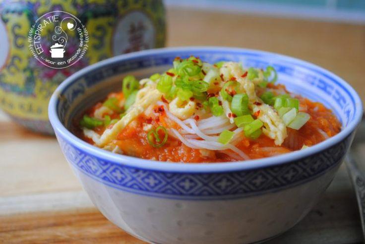 Chinese tomatensoep