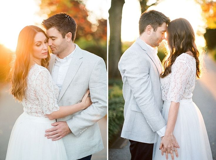 Elegant Garden Engagement; Tulle Skirt Engagement; What to wear to your Engagement; film photography; film photographer; golden hour engagement; sunset engagement session