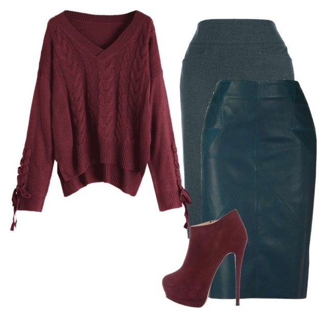 2 by fireflowfor on Polyvore featuring polyvore fashion style Giuseppe Zanotti clothing