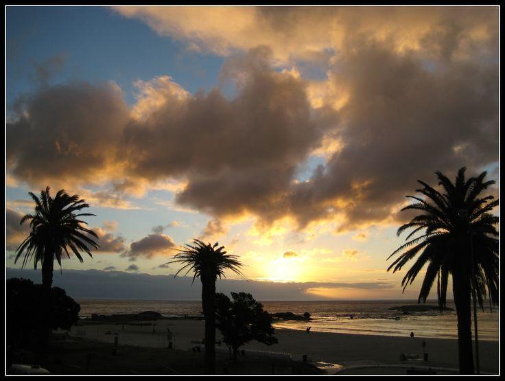Sundowner #CampsBay Cape Town