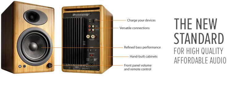 AudioEngine A5+W Powered Speakers, $399.00