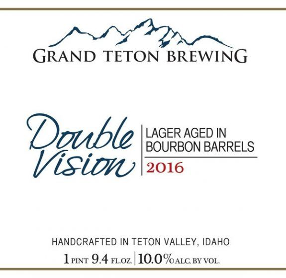 Grand Teton BBA Double Vision Doppelbock 2016 now online through The Rare Beer Club