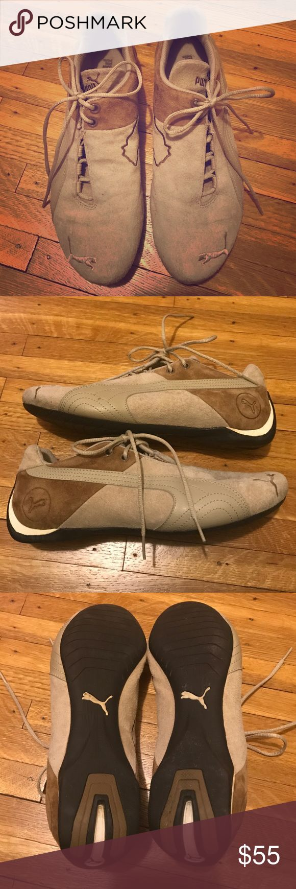 Puma men's racing shoe Essentially perfect condition Puma Shoes Sneakers