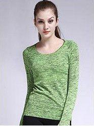 [AP] Dry Quick Gym T Shirt Compression Tights Women's Sport T Shirts Running Long Sleeve T-shirts Fitness Women T-shirts & tops