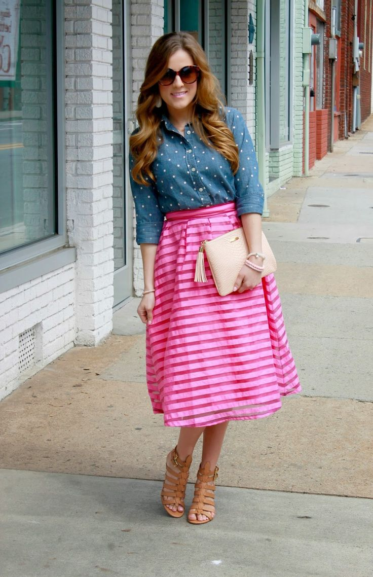 17 Best Images About Modest Spring/Summer Outfits On Pinterest | Denim Jackets Maxi Skirts And ...
