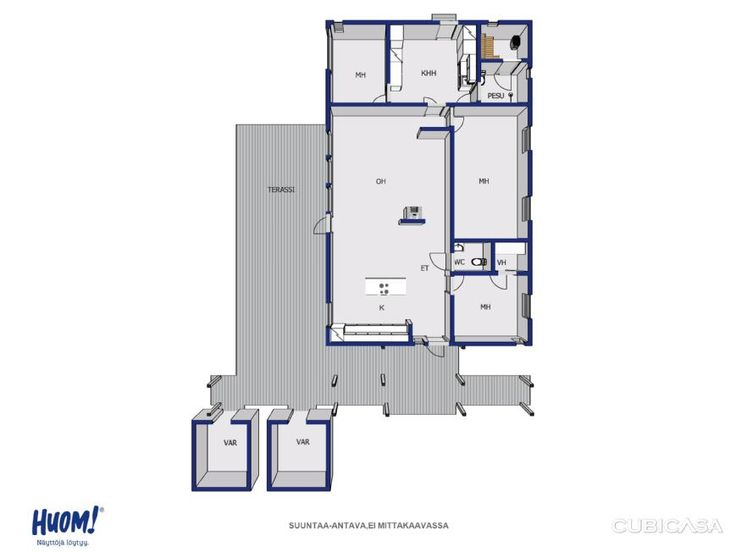 Myydään Omakotitalo 5 huonetta - Kangasala Ruutana Pastorinkaari 8 - Etuovi.com 9778965