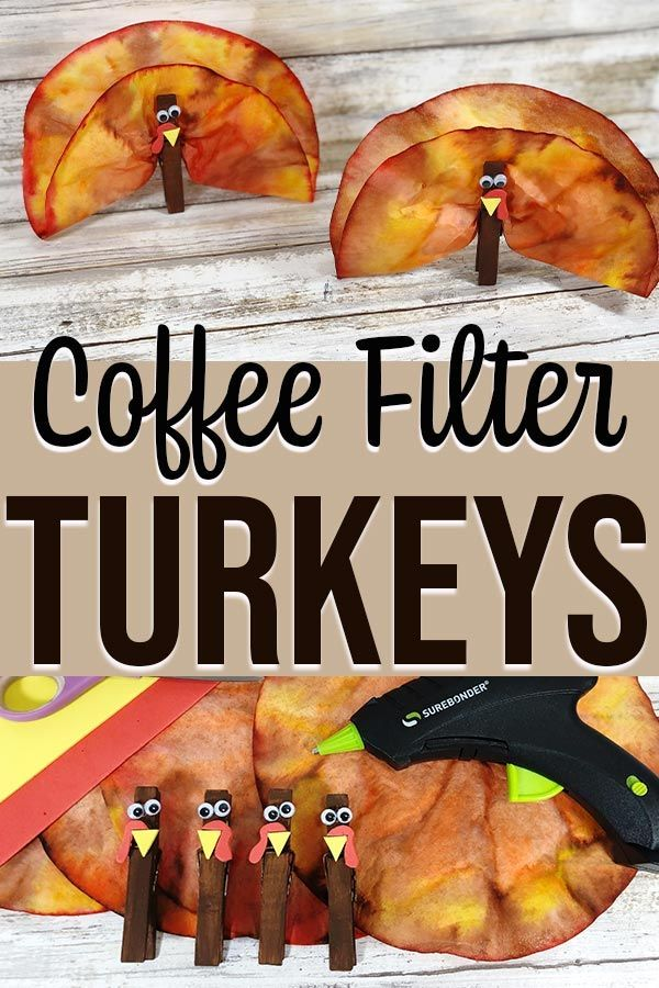 Coffee Filter Turkeys Thanksgiving Craft For Kids Thanksgiving Crafts For Kids Fun Thanksgiving Crafts Thanksgiving Turkey Craft