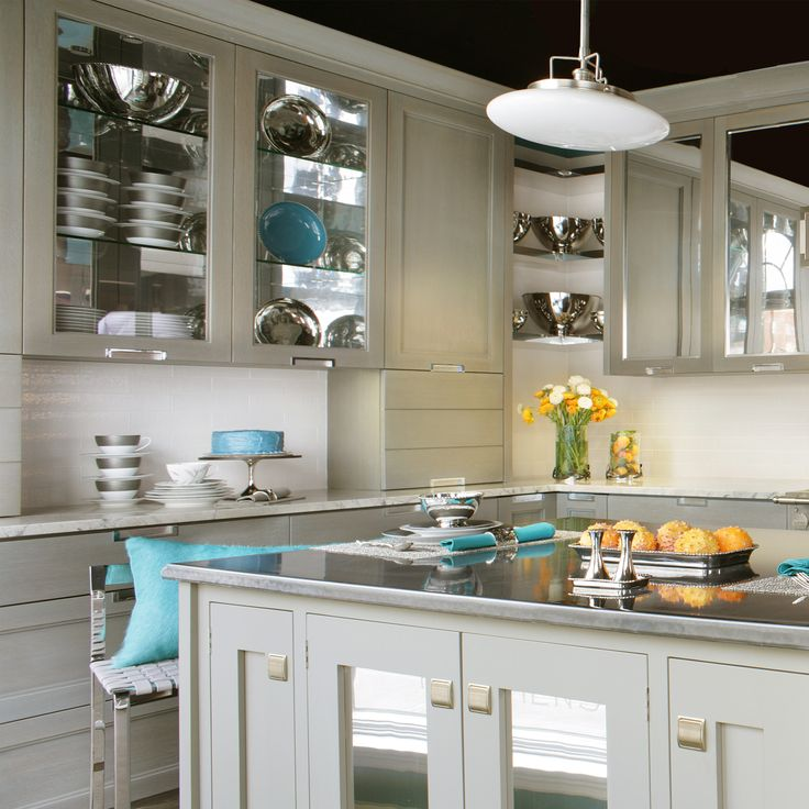 New bilotta collection cabinetry designed by randy o kane a mix of rift cut white oak w a - Stain inside of cabinets ...