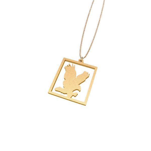 Eagle jewelry necklace from Zazzy