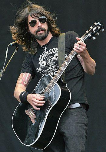Tats + beard + voice + music + drums + guitar + lyrics = Rock. Star.