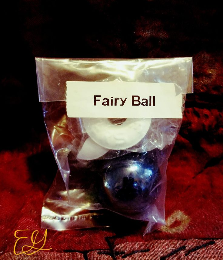 Fairy Balls w/lifesaver candy stands