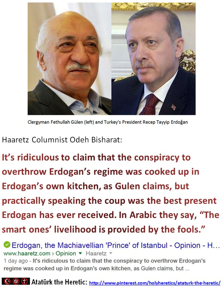 """Haaretz Columnist Odeh Bisharat: It's ridiculous to claim that the conspiracy to overthrow Erdogan's regime was cooked up in Erdogan's own kitchen, as Gulen claims, but practically speaking the coup was the best present Erdogan has ever received. In Arabic they say, """"The smart ones' livelihood is provided by the fools."""""""