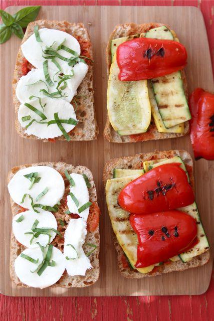 Grilled Italian Panini Recipe with Zucchini, Summer Squash & Basil {Vegetarian} | Flickr - Photo Sharing!