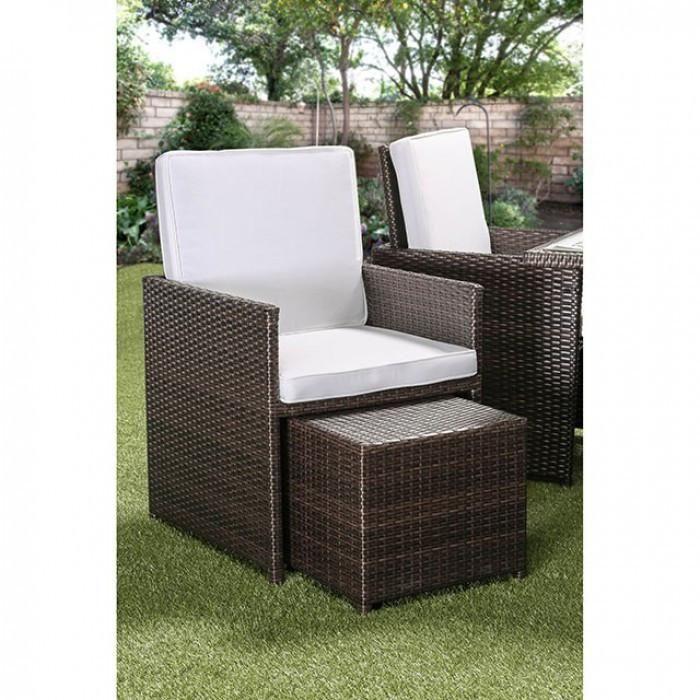 Furniture Of America Keisha 9pc Outdoor Patio Set