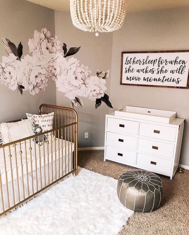 Pin By Stephanie Foster On Nursery Baby Girl Room Design