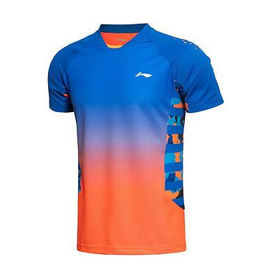 2016 new li ning men's tops sportswear #clothing #badminton #table tennis t-shirt,  View more on the LINK: http://www.zeppy.io/product/gb/2/322280176969/