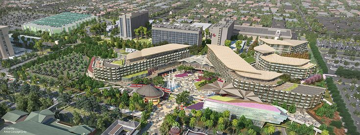BREAKING: Disneyland Resort Building New Hotel to Replace Much of Downtown Disney Anaheim - WDW News Today