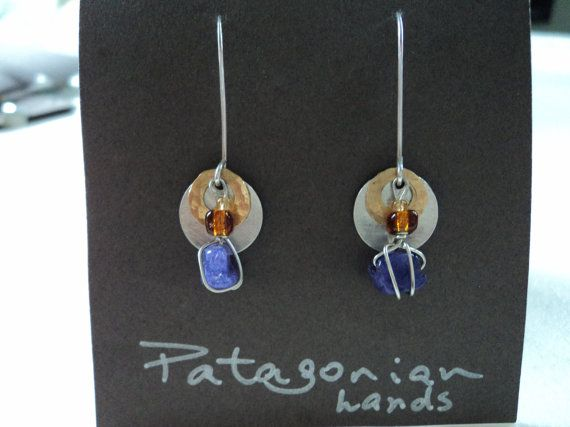 Handmade .950 Silver Earrings Free shipping in by PatagonianHands, $40.00