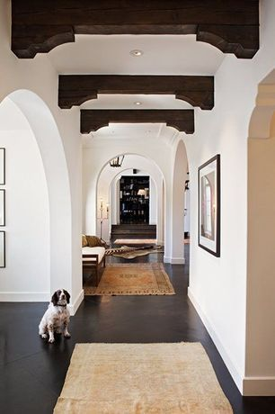 """""""View this Great Mediterranean Hallway with Concrete floors & Columns. Discover & browse thousands of other home design ideas on Zillow Digs."""""""