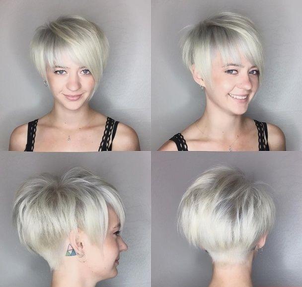 Frisuren oben lang seiten kurz damen