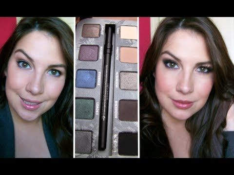 Urban Decay Smoked Palette 2 in 1 Tutorial. I bought this on a whim and now I know 2 looks to do with it.