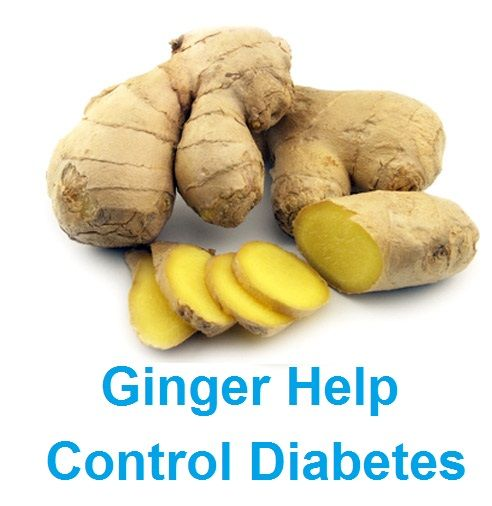 Ginger Help Control Diabetes – Natural Cure